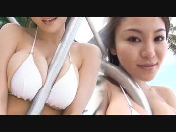 【高画質】松金洋子 白ビキニ