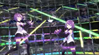 【MMD】デフォ子さん達で『ヒバナ』【UTAU