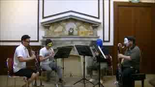 ソーサリアンより ツインアイランズの曲をクラリネットアンサンブルで 演奏してみた