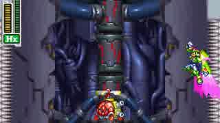 【TAS】ロックマンゼクス 針壁登り連続エアダッシュ
