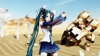 【MMD】『砂の惑星』by REM式 初音ミク (1