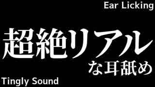 【ASMR】2種類のリアルな耳舐め / 比較【