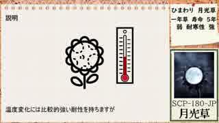 【ゆっくりSCP】SCP-180-JP 月光草