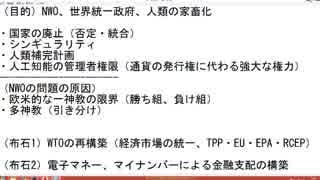 (サイボーグ工学について)NWO阻止マニュアルを作成する第6回【沢村直樹・公式放送アーカイブ】