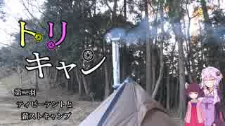 【VOICEROIDキャンプ】トリキャン 第二羽 ティピーテントと薪ストキャンプ