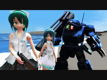 【 MMD Drama? 】 CROSS STORIES Steel Cavalry L-7 【 Distribution AT Addition 】