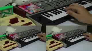 【もこ田めめめ】ファミコン実機で親のBGMを弾いてみた【アイドル部】