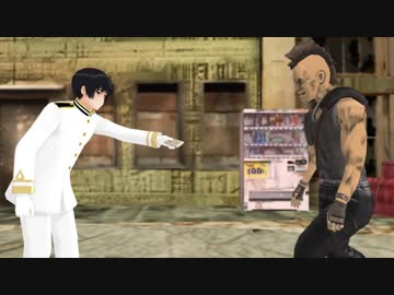 【 AP Hetalia MMD 】 Hyacher pokes a knife to his grandfather