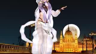 アラビアン結月ゆかりが夜の西洋橋ステージで桃源恋歌