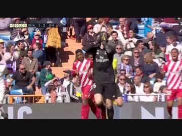 Real Madrid vs Girona (18-19 La Liga)
