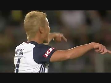 【 Honda 6th Goal 】 Wellington · Phoenix × Melbourne · Victory