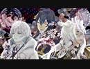 【MMD刀剣乱舞】-夢と葉桜-【三日月・小狐丸・鶴丸】