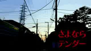 さよならテンダー/ニコカラ(on vocal)
