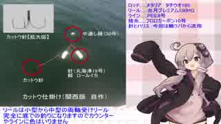 BKTY週末釣行記01(音声調整版)【VOICEROID