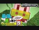 【日刊Minecraft】最強の匠は誰かスカイブロック編改!絶望的センス4人衆がカオス実況!#53【TheUnusualSkyBlock】