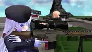 【MMDドルフロ】 HK416とG11が狙撃任務を行う動画