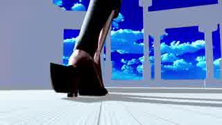 【MMD艦これ】 秋月さんでムラサキ 【ray】