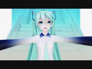 【 MMD 】 Music Music Music 【 YYB Hatsune Miku 】