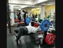 ベンチプレス100kg×39回