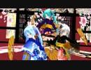 【MMD】 振袖ミニあぴで ♪ 極楽浄土 ♪ [1080P]