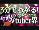 【2/17~2/23】3分でわかる!今週のVtuber界【佐藤ホームズの調査レポート】