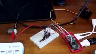 raspberry pi zero DCモーターDCを動かす