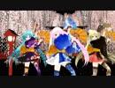 【MMD】 振袖ミニあぴミクで ♪ 千本桜 ♪ 銀魂版 2019 [1080P]