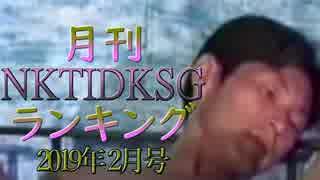 【2019年2月号】NKTIDKSGランキング