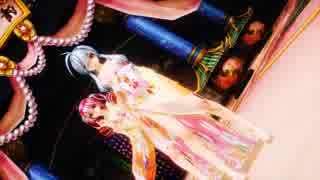 Ray MMD【独りんぼエンヴィー】Tda式改変 重音テト 弱音ハク Japanese Kimono