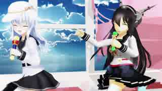 【MMD艦これ】駆逐艦2人で『ブランニュー・ハピネス!』1080p