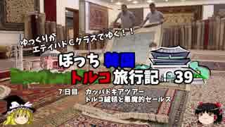 【ゆっくり】韓国トルコ旅行記 39 カッパドキアツアー  25万の絨毯を買わされかける