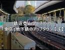 鉄道登山学 その19 「東京」地下鉄のアップダウン【浅】