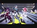 【MMDアリスギア】Fit'sダンス【真理さんと綾香ちゃんと愛花ちゃん】