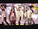 【MMD艦これ】神風型5人にチャンバラジョニーを踊ってもらいました。