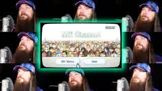 Wii「似顔絵チャンネル」のアカペラ