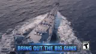 World of Warships:Legends Closed Beta Official Gameplay Trailer
