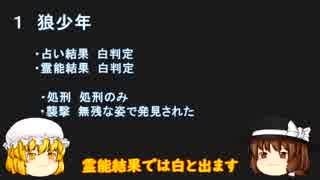 【ゆっくり解説】蓮子とメリーと学ぶ人狼ゲーム特殊役職 第2講「狼少年 黒猫」