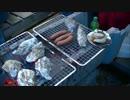 日生で牡蠣を食べる。