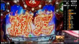 【パチンコ実機】デジハネCR蒼天の拳ST(2013)【