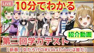 【VakaTuberは誰だ】10分でわかるVtuber学