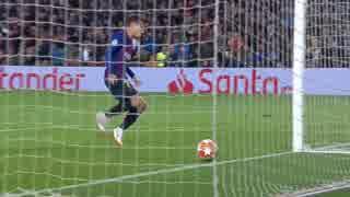 18-19UEFA  CL ベスト16 2lg バルセロナ 対  リヨン