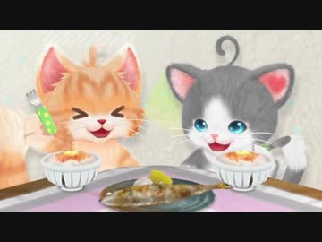 【 Commentary 】 It was a talking cat when I tried two cats part 2