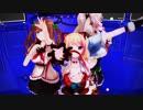 【アイドル部MMD】MelodyLine【花京院ちえり・もこ田めめめ・猫乃木もち】
