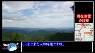 高水三山縦走RTA4:03:48