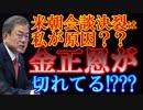 韓国の文在寅大統領を、北朝鮮の金正恩氏がお怒りのご様子。