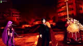 【FGOAC】初手スキルマ孔明で炎上汚染都市20【無選別1試合】