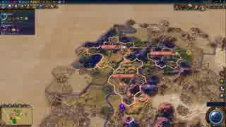 [Civ6]GS 非戦文化勝利 フランス アリエノール Part2[ゆっくり実況]