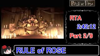 【RULE of ROSE】RTA(上映会付き) 2:42