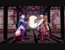 【アイドル部MMD】和装二人で「宵々古今/YoiYoi Kokon」