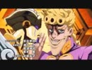 【OP差し替】ジョジョの奇妙な冒険 黄金の風op2 を 渇いた叫び 【遊戯王】初代op1